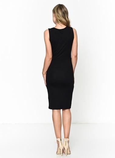Vero Moda Elbise Siyah